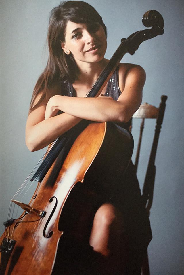 Ирина Чиркова виолончело