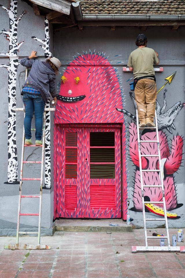 SUNSHINERS графити
