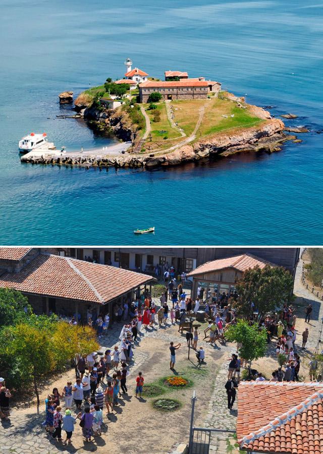 остров Света Анастасия край Бургас