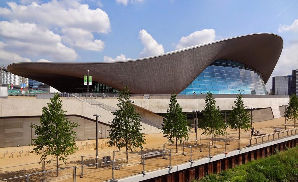 Олимпийският басейн в Лондон