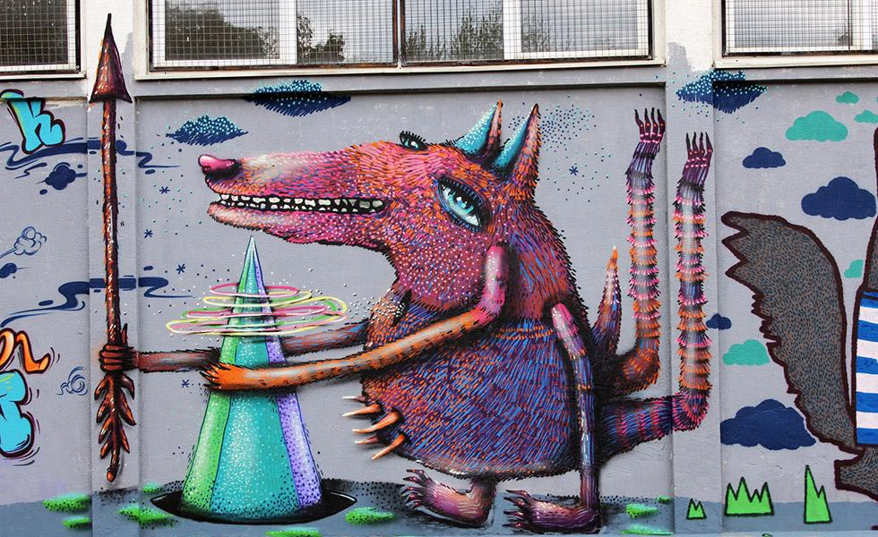 Графити във Варна