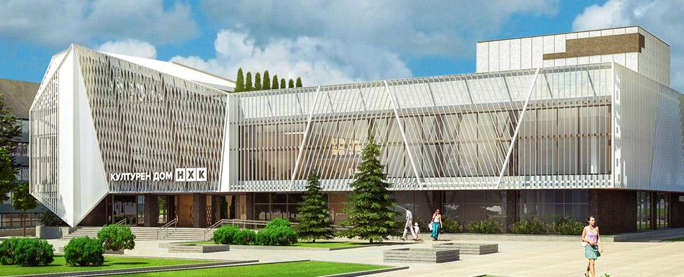 Проект на Културен дом на нефтохимика