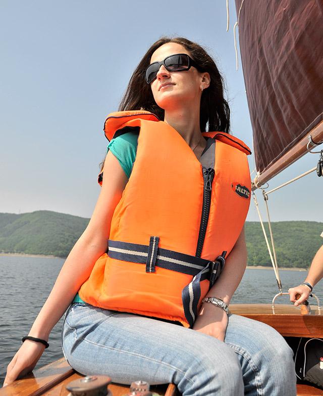 Разходка с лодка в езеро