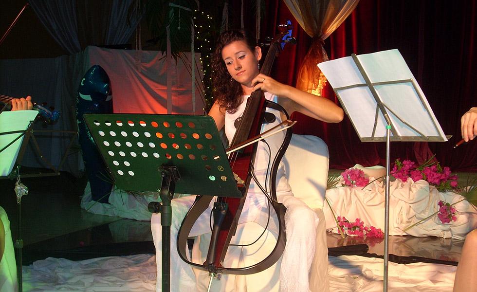 Концерт с Веселина Борисова на виолончело