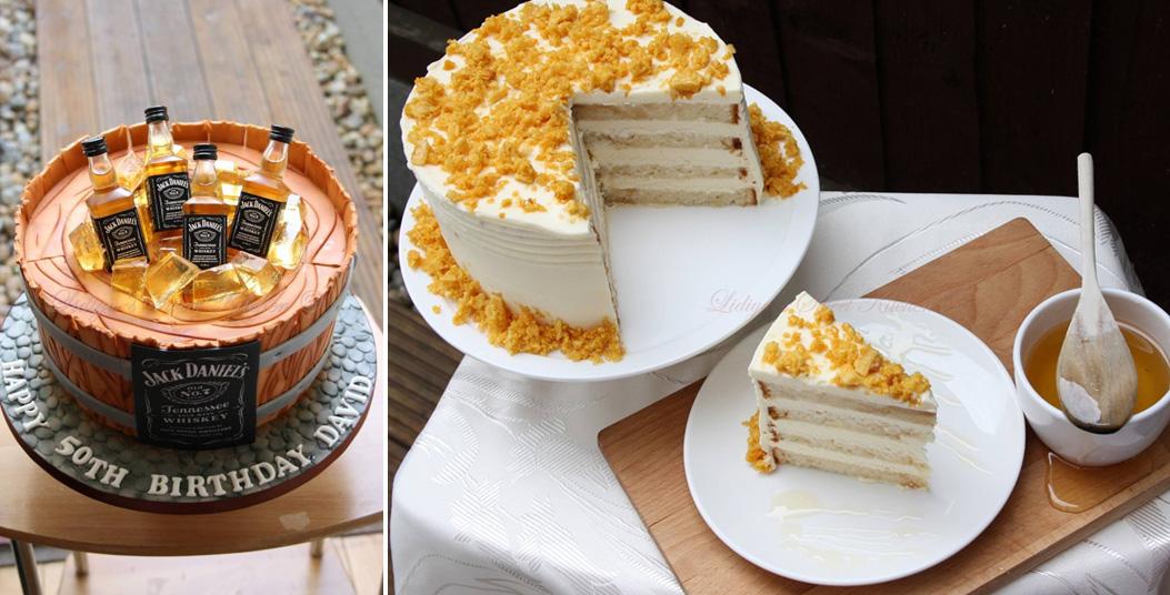 Торта за рожден ден за възрастен човек