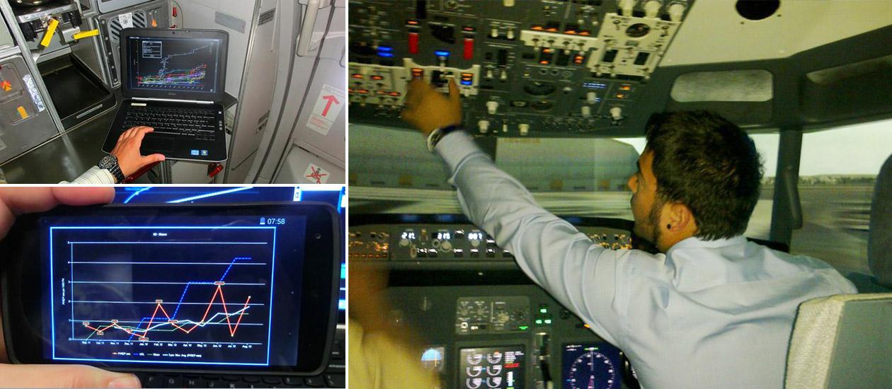Български софтуер борещ се със самолетни катасрофи