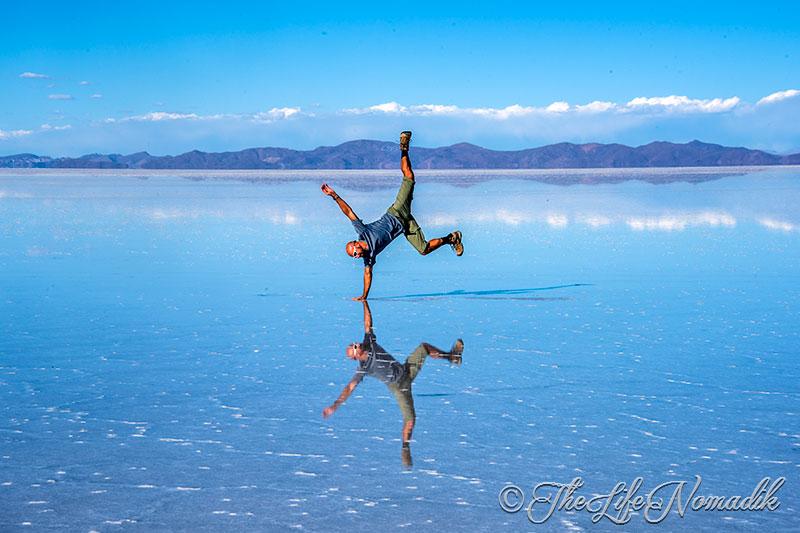 Солено езеро в Перу
