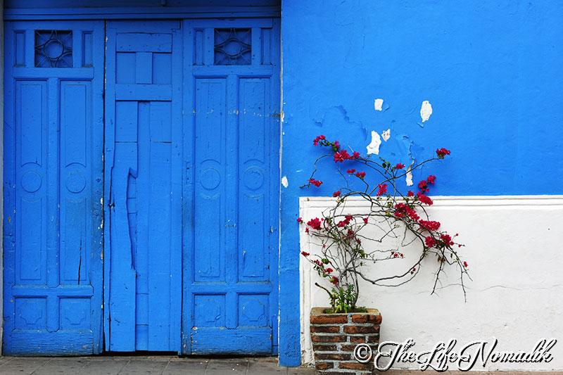 Синя къща