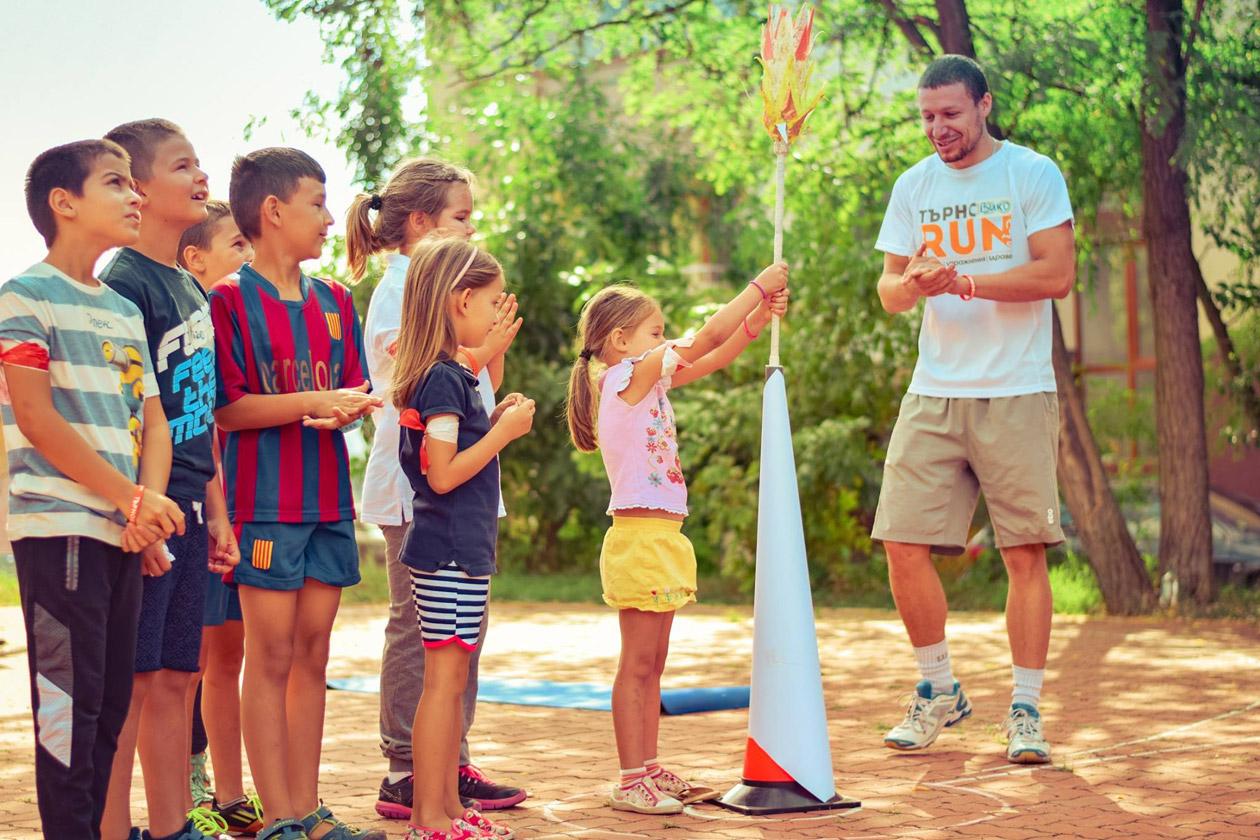 Спортни занимания с деца