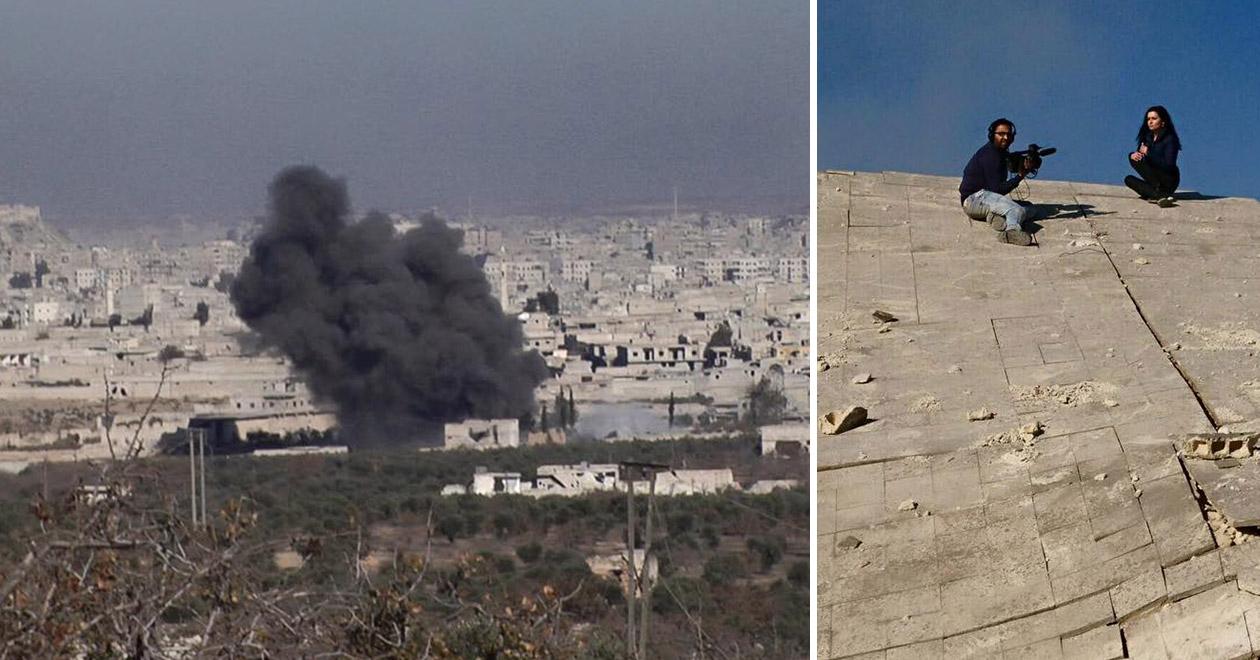 Битката за Алепо в Сирия от български журналист