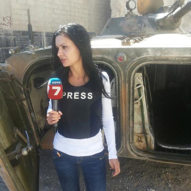 Български журналист в Сирия