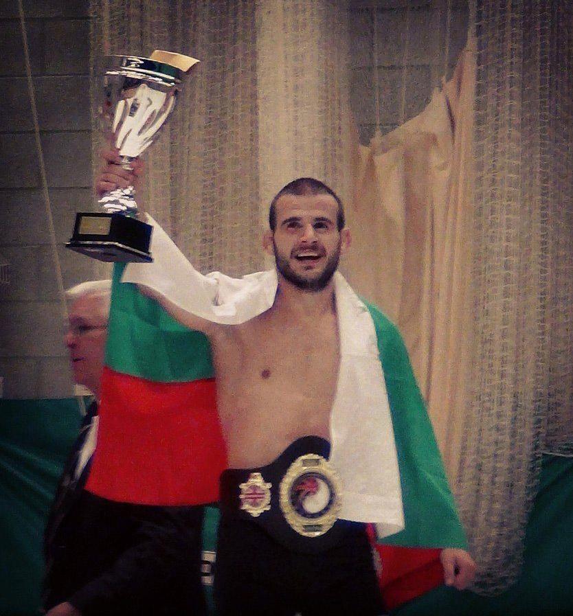 Ивайло Георгиев eвропейски шампион по Сан Да