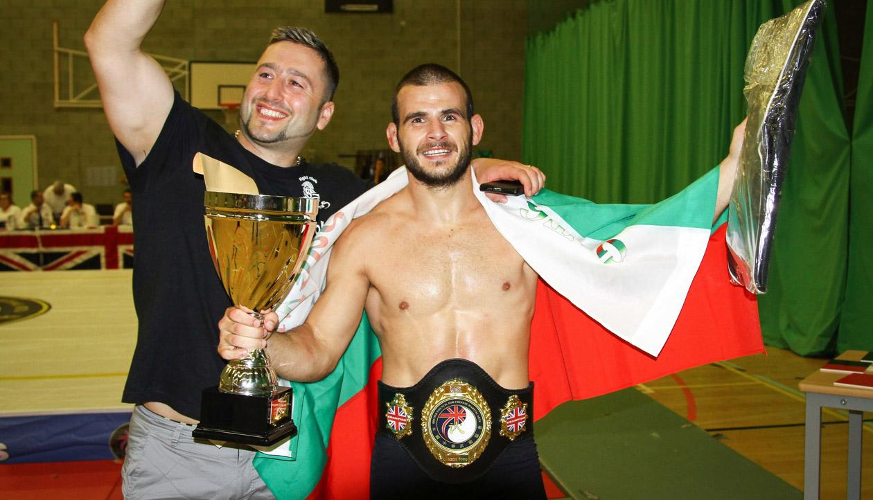 Български европейски шампион по бойни изкуства