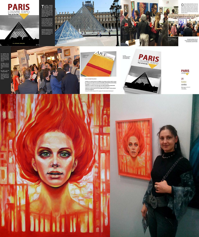 Българска художничка с картина в Лувъра- Париж