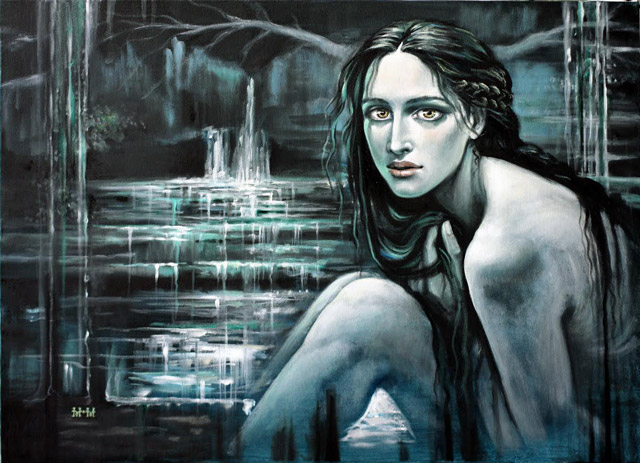 Картина на известен българки художник