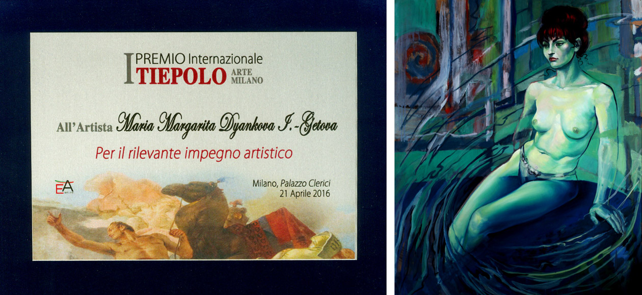 Bulgarian participation in art event for Painting in Italy