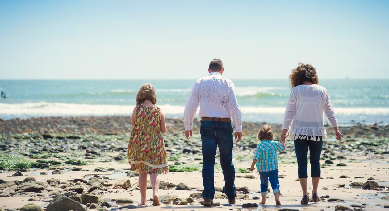 Семейство със смесен брак във Великобритания