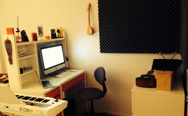 music working space