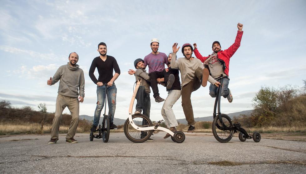 Мартин Ангелов, Михаил Кленов и екип Halfbike