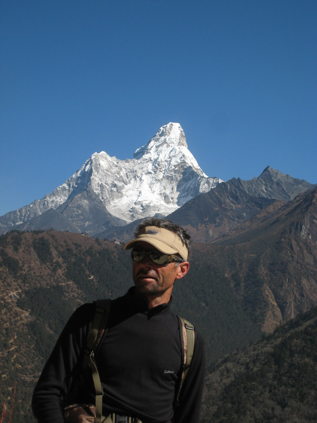 mountain guide in Nepal