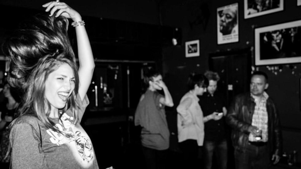 момиче танц