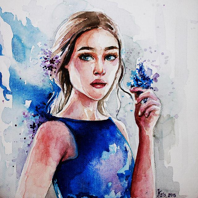 Кристина Ценова картина