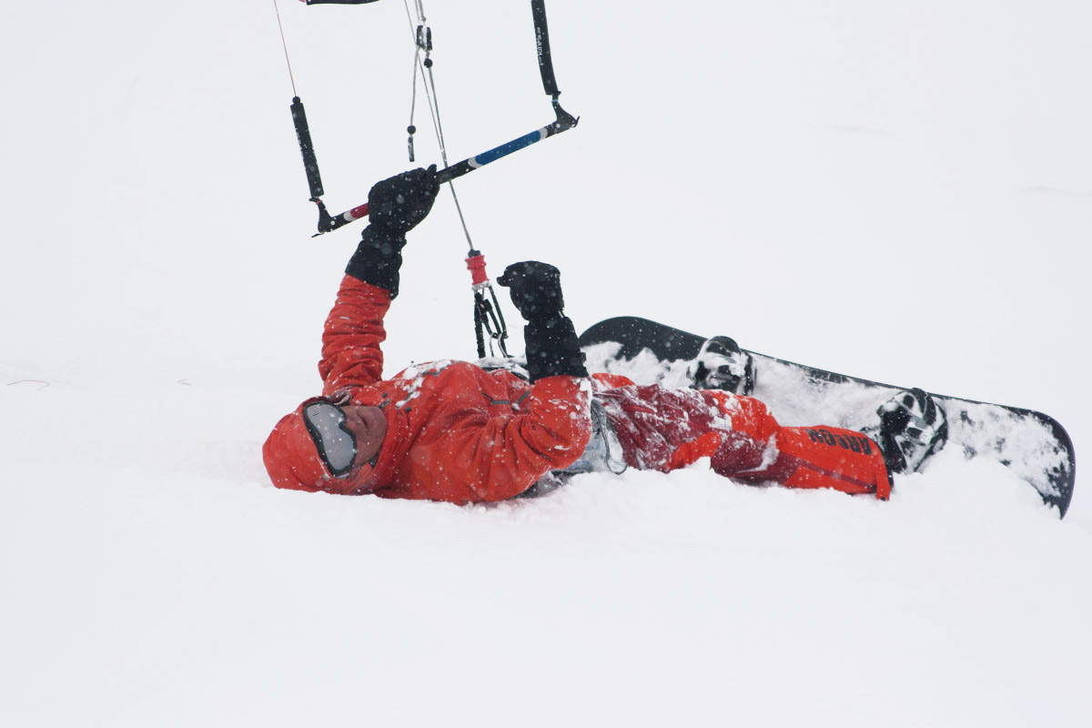 кайт за сняг