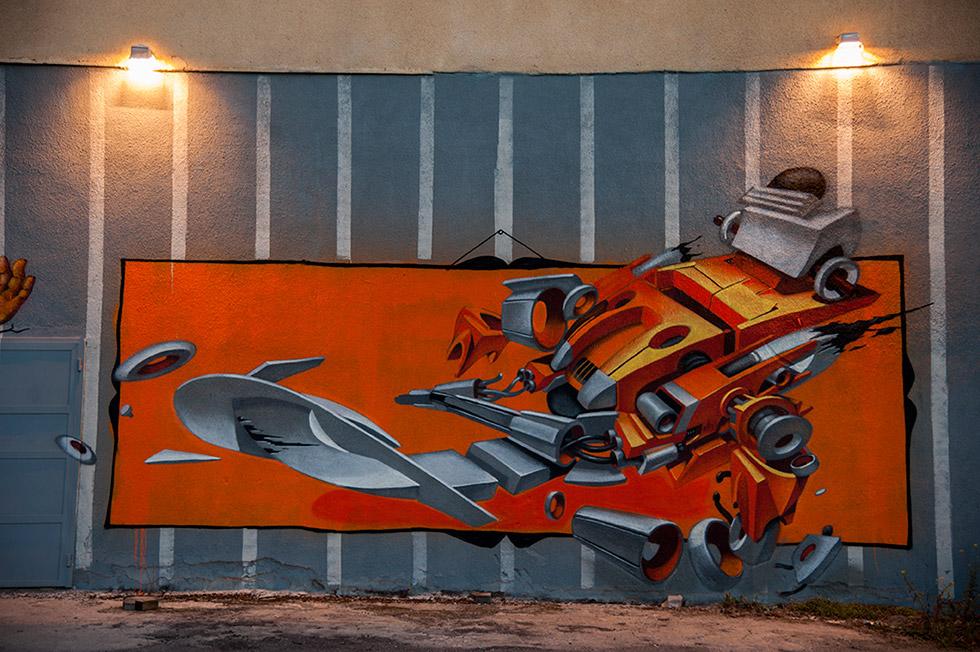 Графити Робот