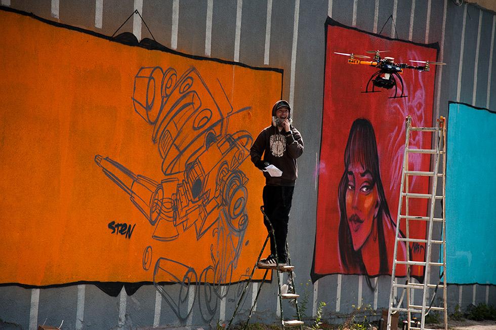 Графити от Стен