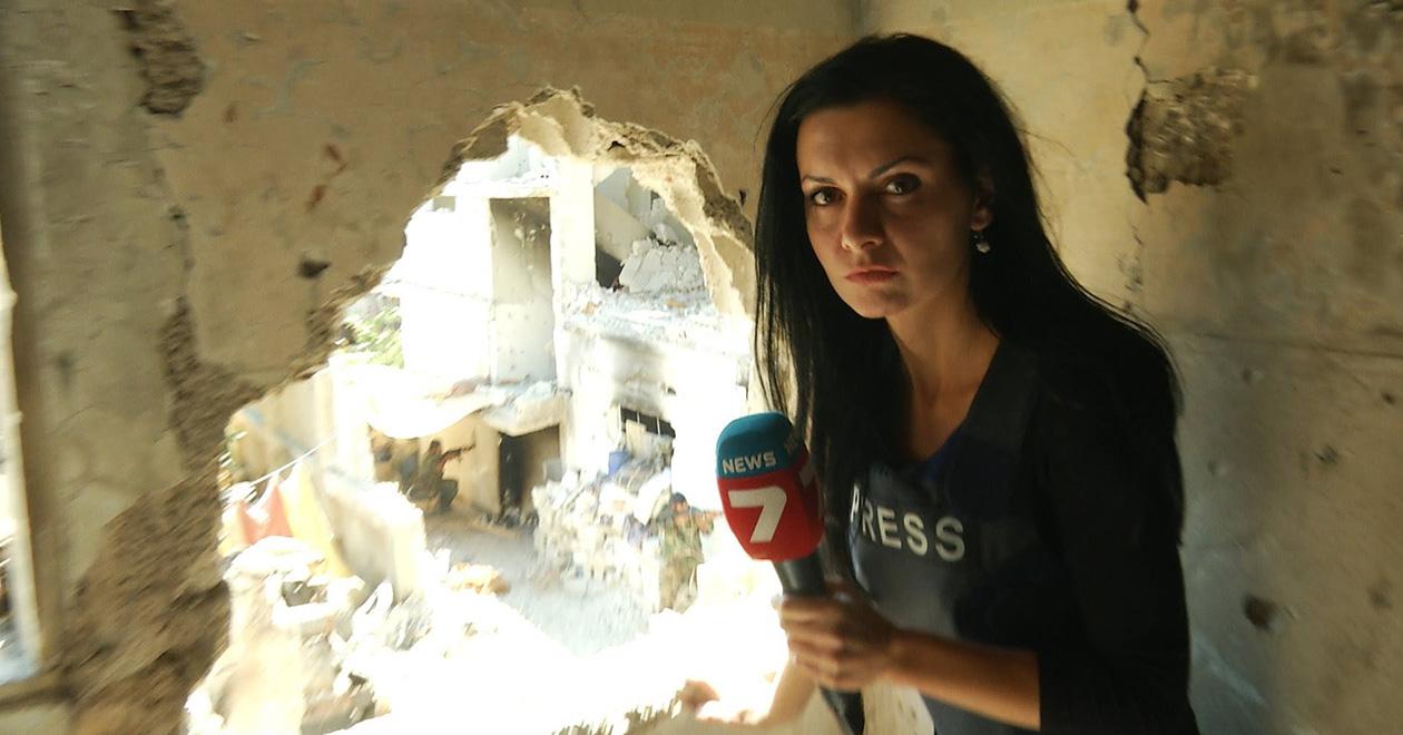 Диляна Гайтанджиева за войната в Сирия