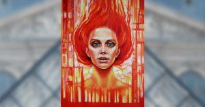 Картини на българска художничка в Арт Лувър Експо, Париж и музея за изящно изкуство, Лас Вегас