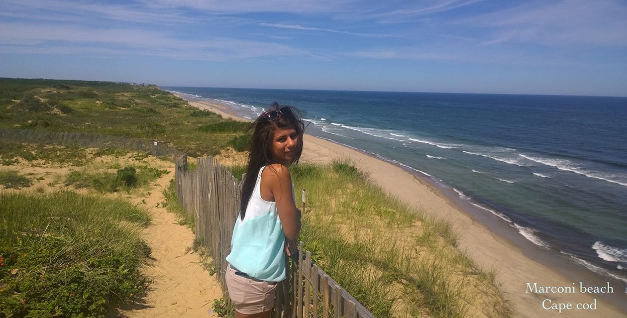Българка в САЩ на плажа