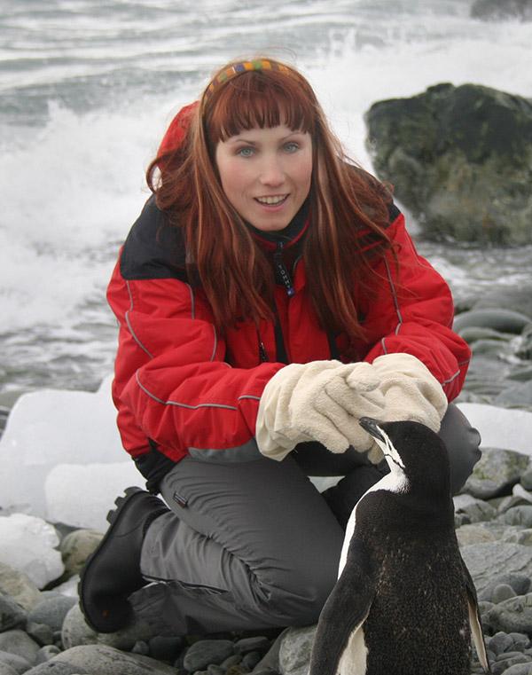фотографката Иглика Трифонова в Антарктида