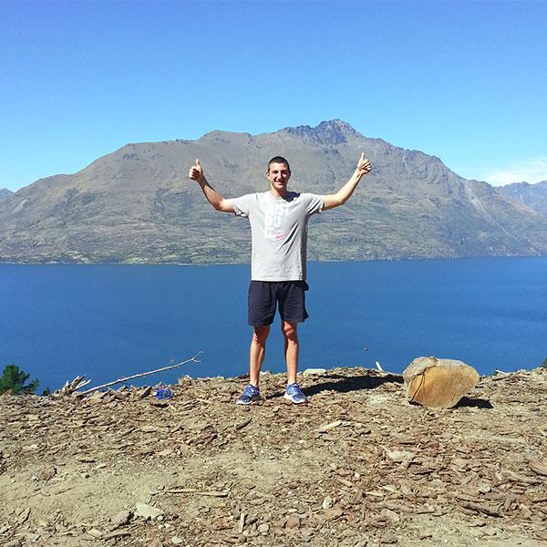 Александър Илиев Нова Зеландия