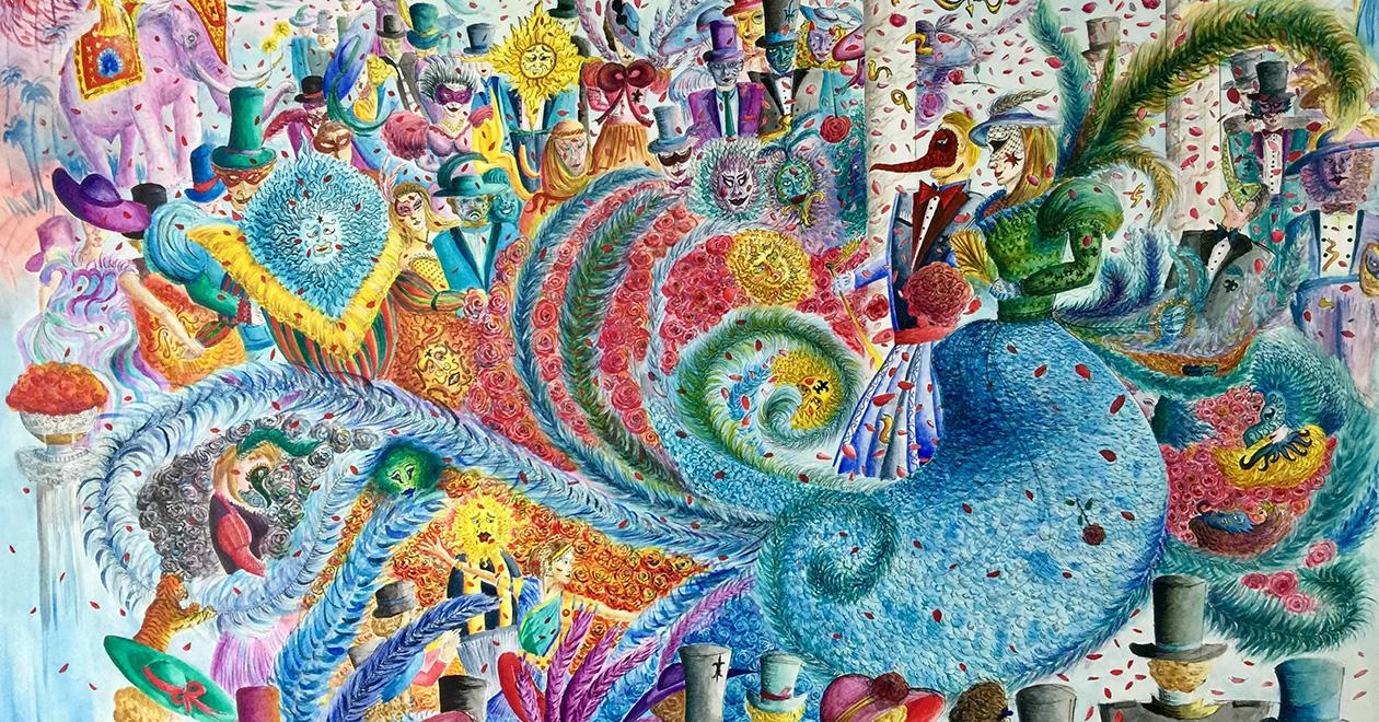 Картина от художника Михов
