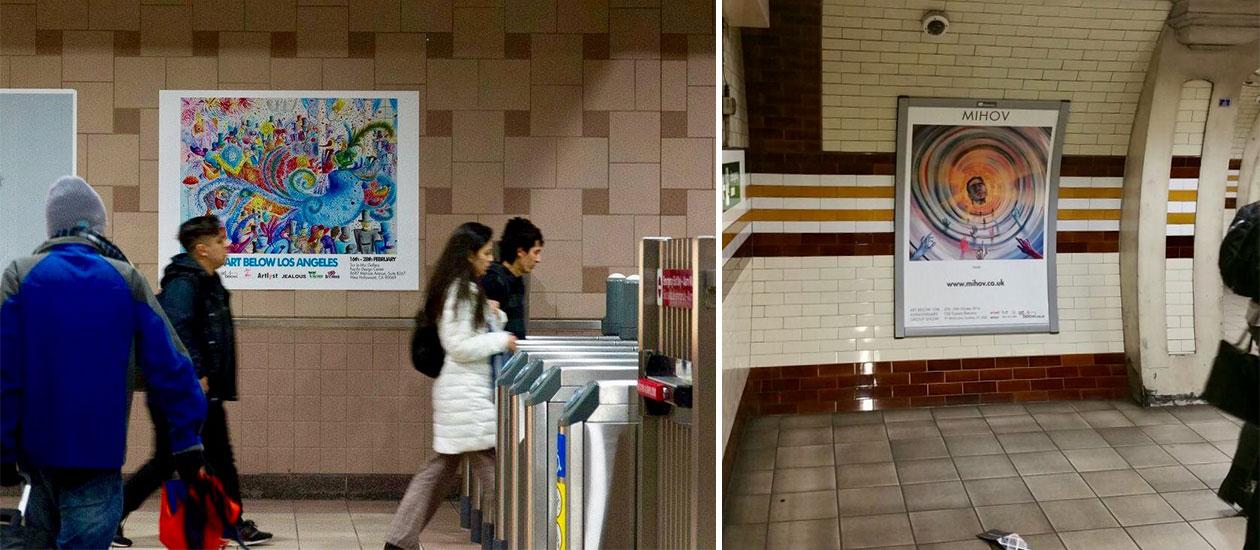 Реклама в метрото