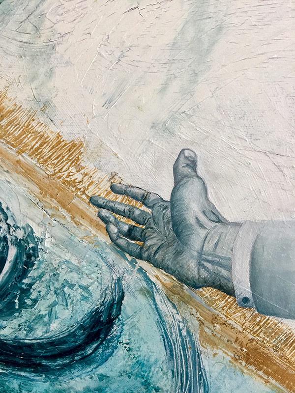 Рисунка на ръка от Михов