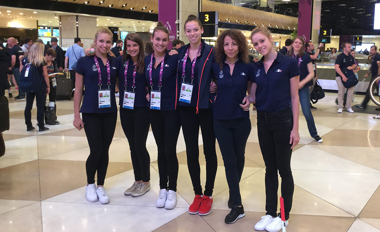 български гимнастички