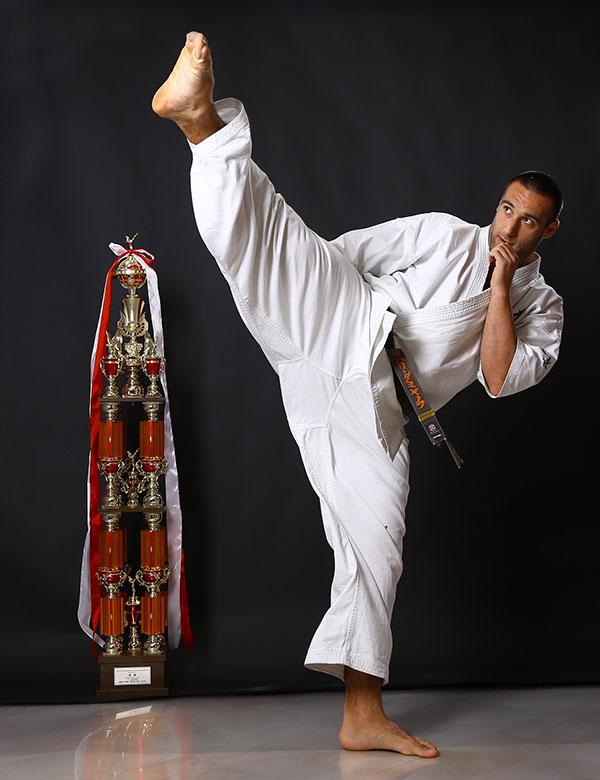Шампион по карате Захари Дамянов