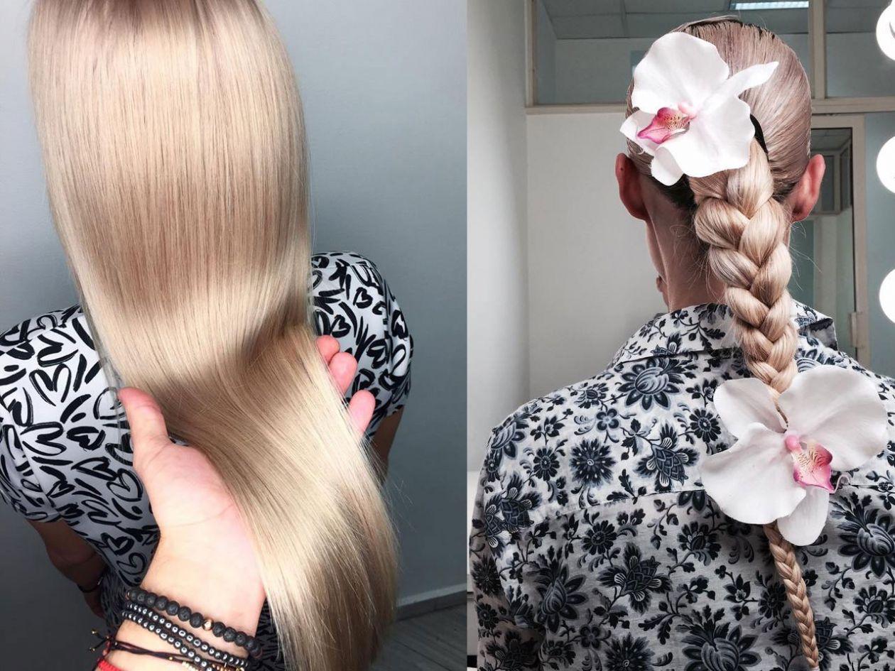 Прическа за руса коса