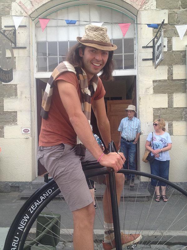 Първото колело в света