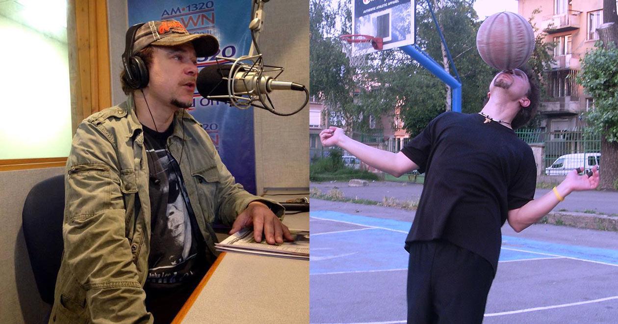 журналист и баскетболист