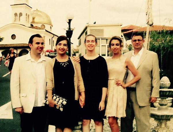 Кирил Кафозов и семейството му