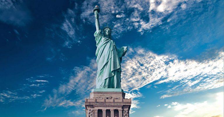 Статуята на свободата в Ню Йорк