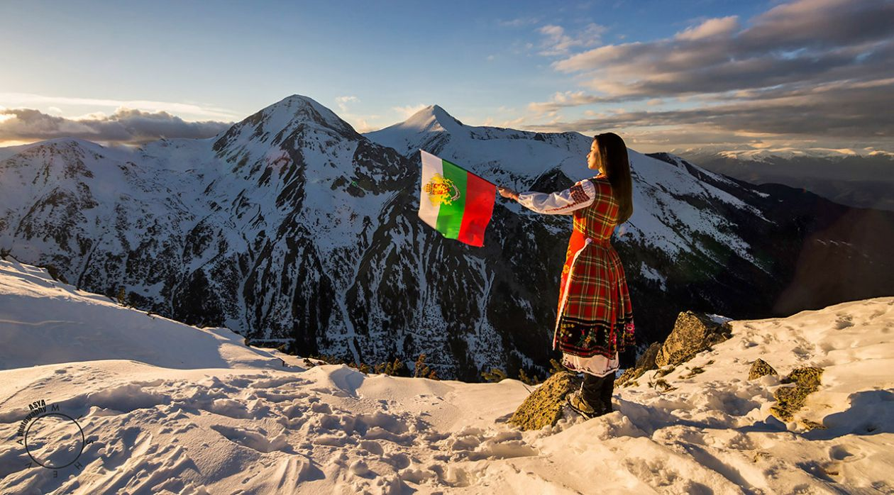 Честит 3-ти март в планината със знаме