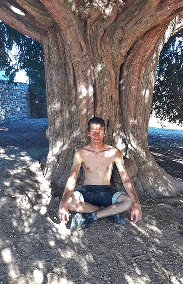 Медитация и йога на открито