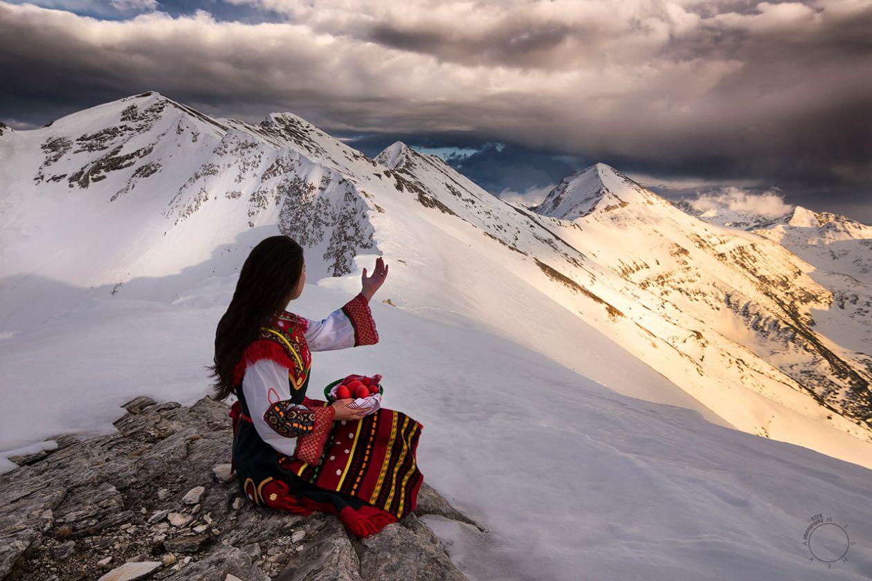 Връх Кончето в Пирин планина