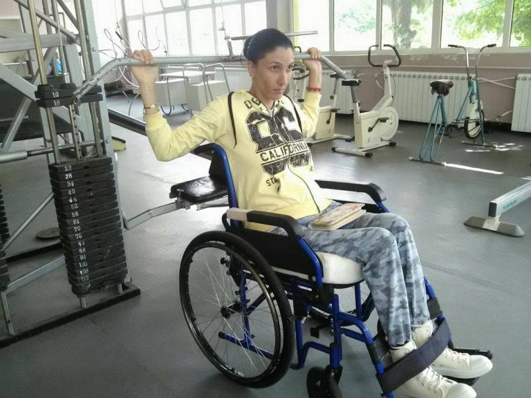 Фитнес на инвалидна количка