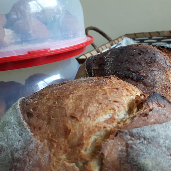 Ръчно направен хляб