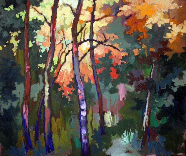 Картина на гора